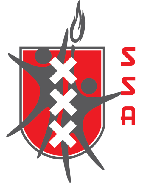 The logo of Studenten Sport Amsterdam